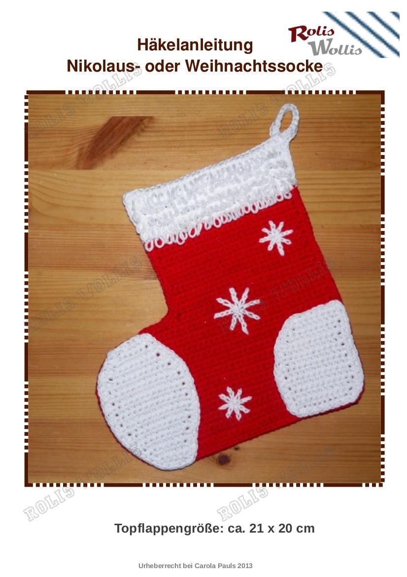 Häkelanleitung Kugeliger Weihnachtsmann Amigurumi | Etsy | 1169x826