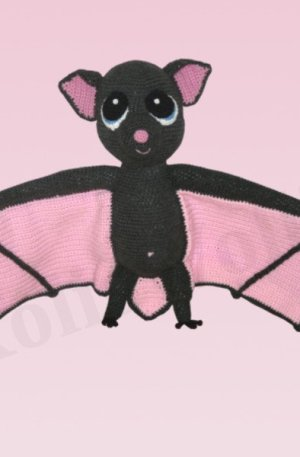Amigurumi Fledermaus Betty