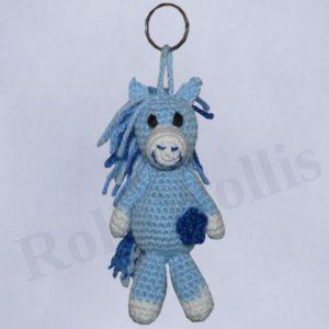 Amigurumi Pferdchen Schlüsselanhänger