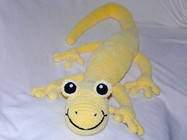 Amigurumis Baxter der Salamander Amigurumi