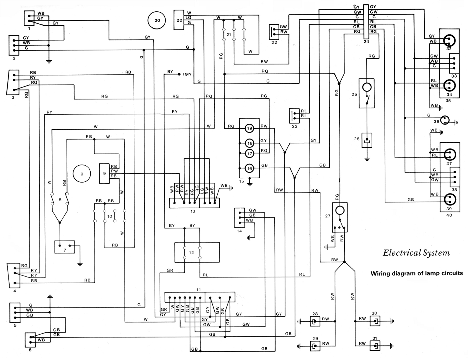 lamp wiring diagram for multiple gfci outlets western star fuse box get free image about