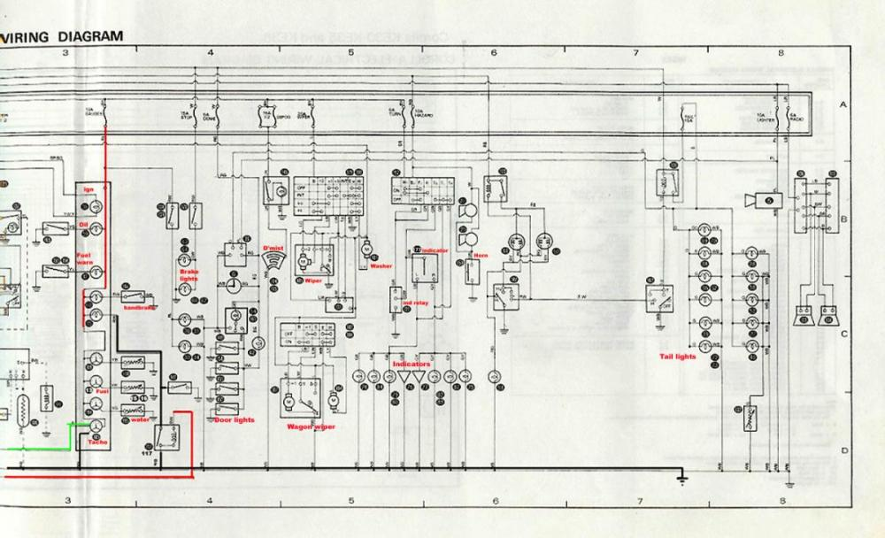 medium resolution of toyota 4k engine alternator wiring diagram 4k wiring diagram wiring diagrams schematicsrh nestorgarcia