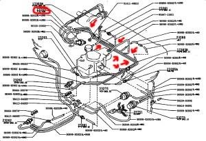 Corolla E9 Vacuum Piping  AExx Corolla Discussion