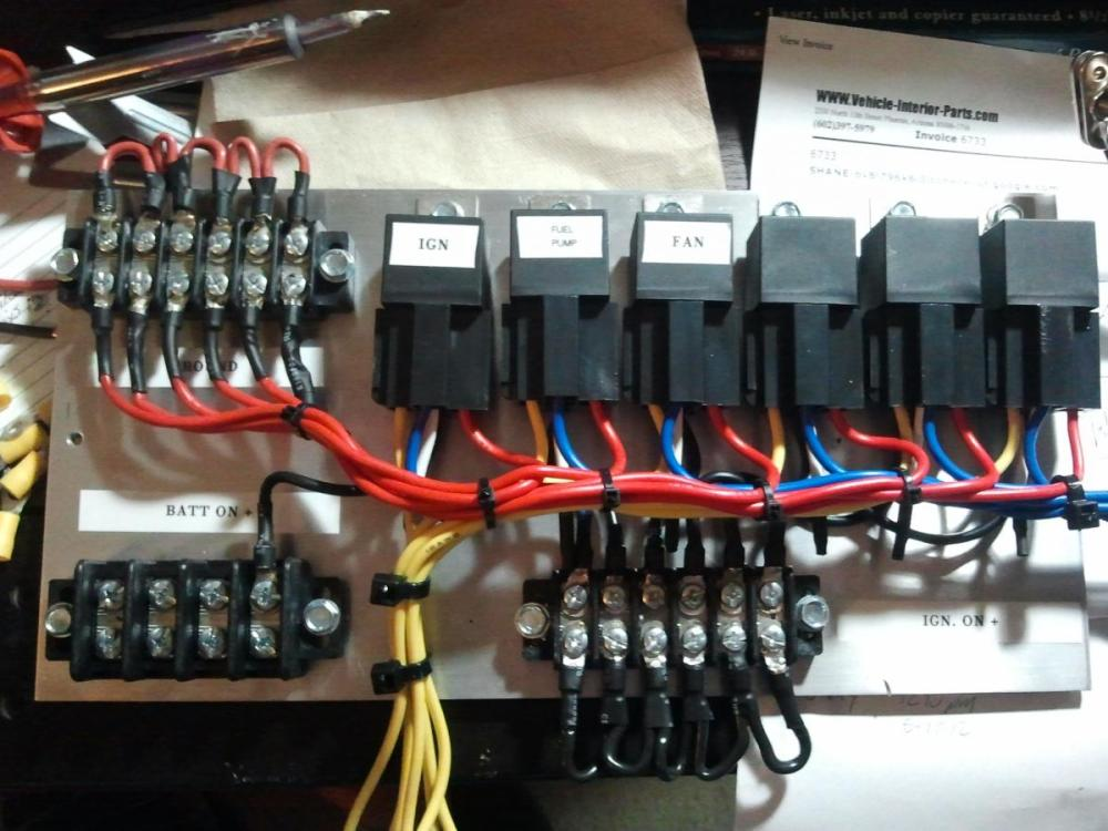 medium resolution of how to wire a switch panel with relays car electrical rollaclub com race car wiring panel car wiring panel