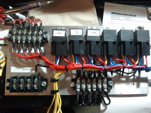 small resolution of how to wire a switch panel with relays car electrical rollaclub com race car wiring panel car wiring panel