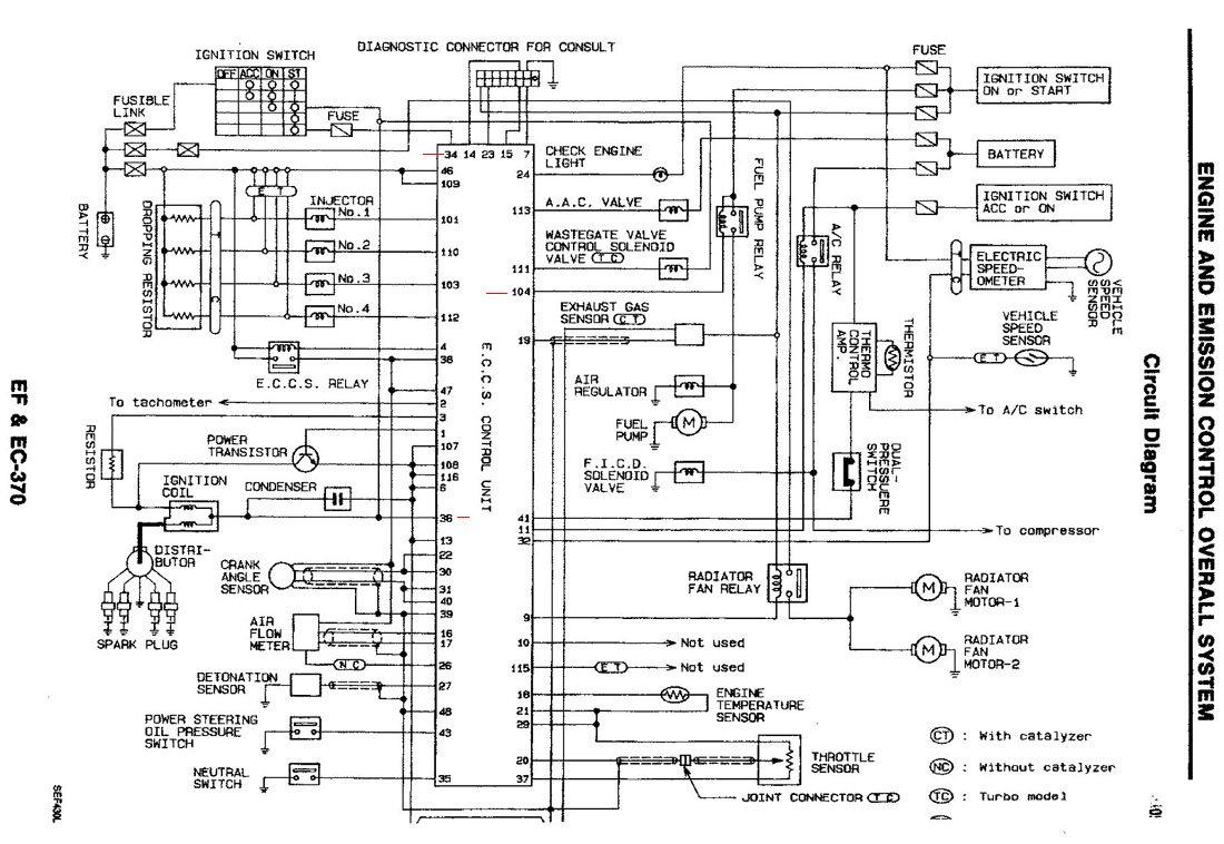 Nissan Almera N15 Wiring Diagram