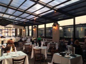 glass restaurant patio enclosures