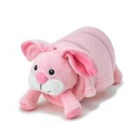 Pink Bunny Pet Plush Pillow with Blanket  Nap Mat Cover ...