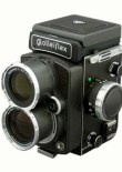 Rolleiflex 4.0 FT with hood closed