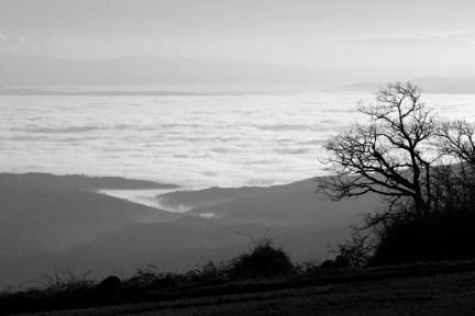 landscape caramulo mar de nuvens 1312 01 d2x 75-300 30x20 bw