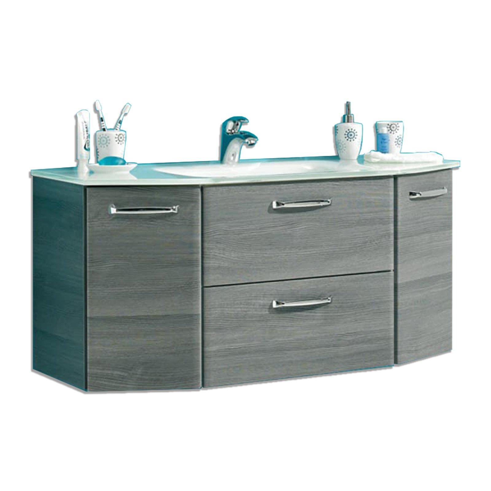waschbeckenunterschrank 45 cm breit waschbeckenunterschrank breit cebaza in weia hochglanz 60 cm. Black Bedroom Furniture Sets. Home Design Ideas