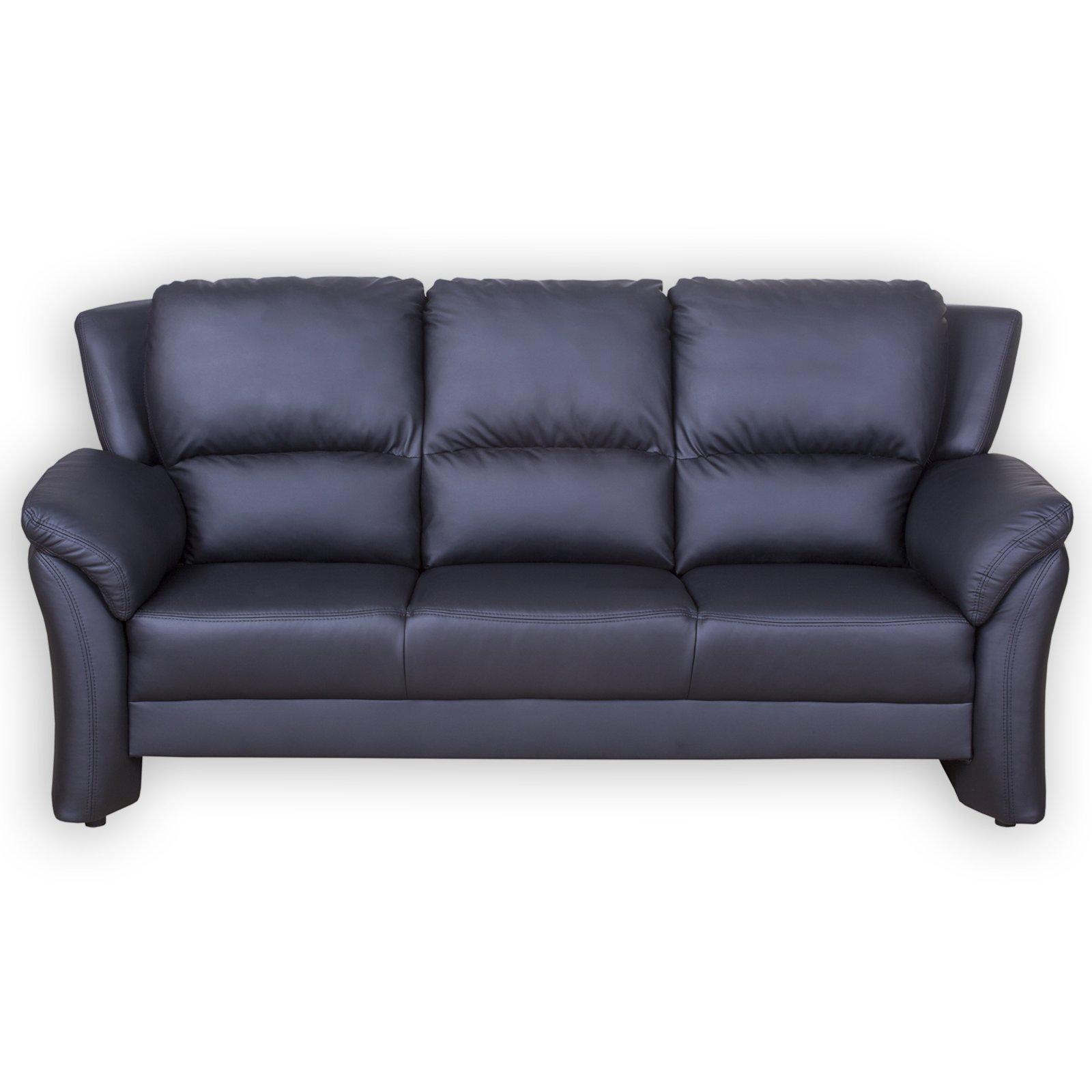 3 Sitzer Sofa Kunstleder