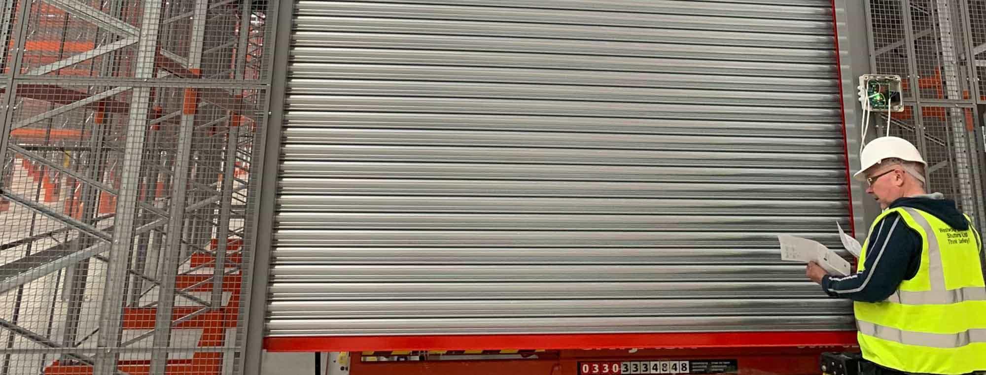 Westwood Security Shutters Ltd Roller Shutter Fire