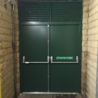 Steel Security Doors & Fire Escapes