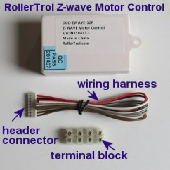 Velux Window Motor Wiring Diagram Hall Effect Sensor Zwave Control For Openers Controller And Skylight Etc