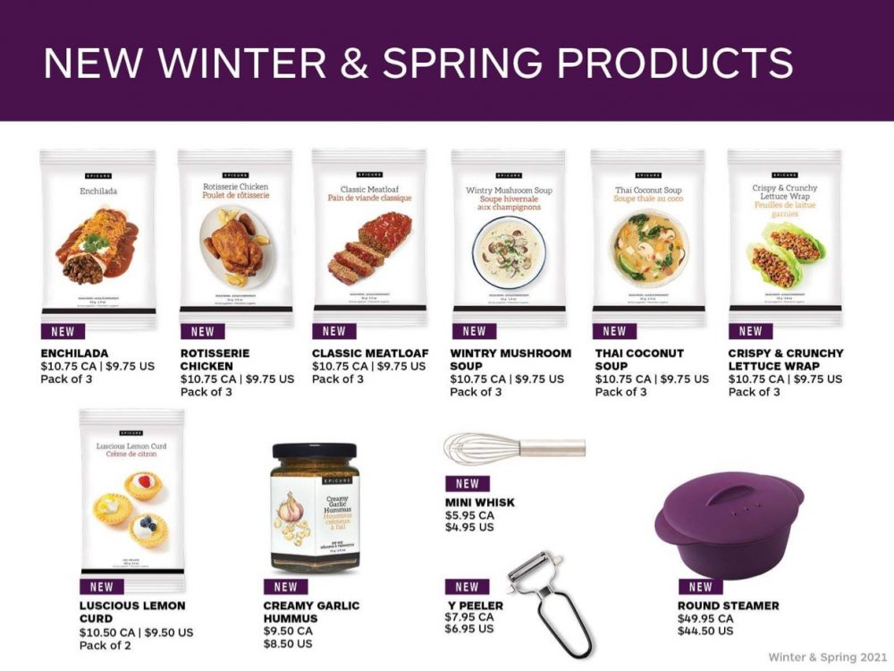 New Winter and Spring Products