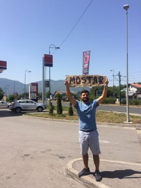 Rollie Peterkin Hitchhiking