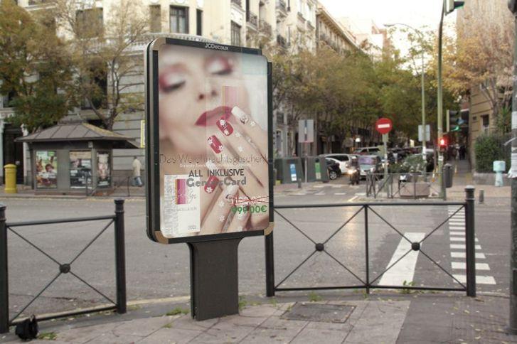 Plakat für Moni Nageldesign