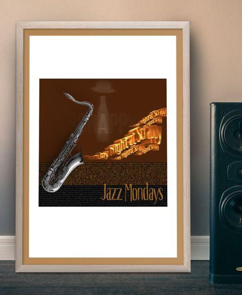 Jazz Mondays - Grafikdesign Referenz