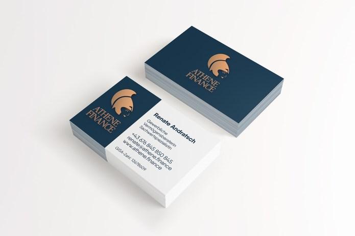 Visitenkarte Kunden Arbeit