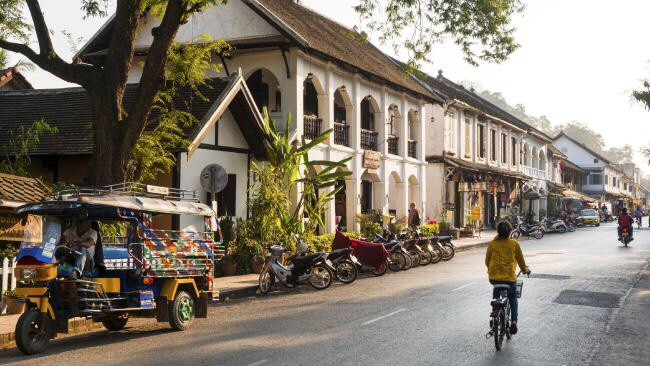 Luang-prabang-colonial-architecture