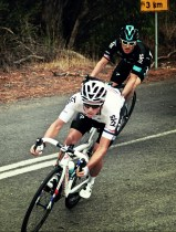 Kennaugh takes a tight bend