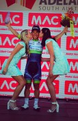 Stage winner Caleb Ewan