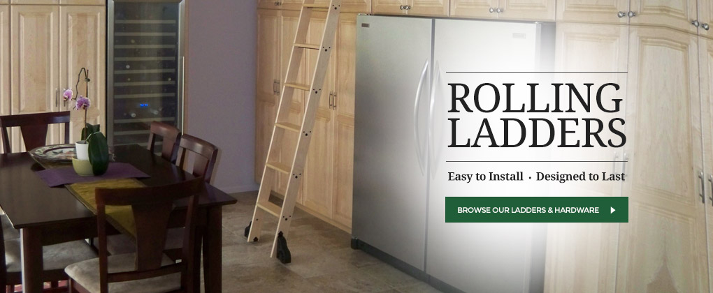 Rolling Ladder Kits Amp Hardware Rolling Interior Barn Doors