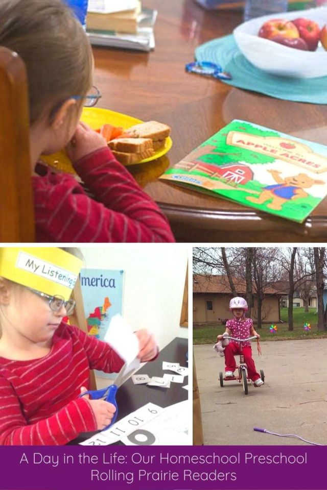 A Day in the Life: Our Homeschool Preschool
