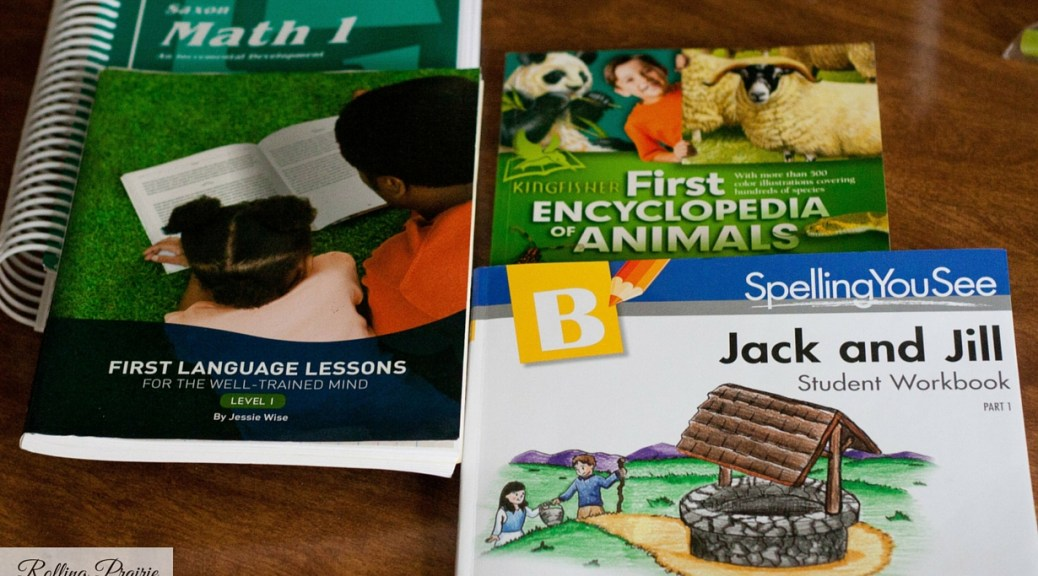 1st Grade Curriculum Choices | Rolling Prairie Readers