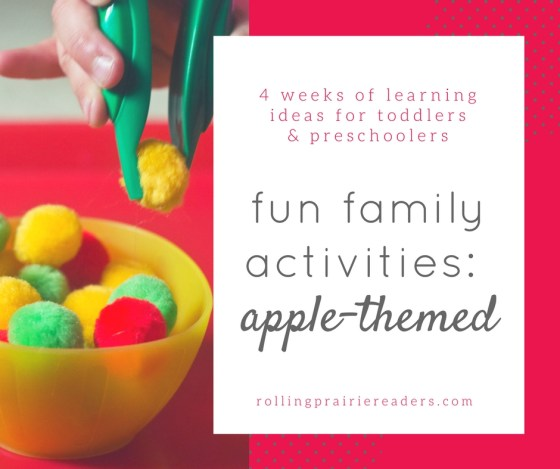 40 fun family activities: apples | simple learning ideas for toddlers and preschoolers, learning at home