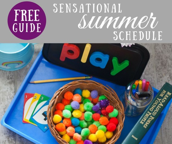FREE Guide: How to Create a Sensational Summer Schedule for Your Family