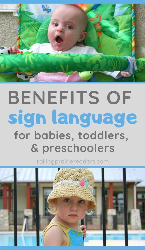 5 Benefits of Baby Sign Language