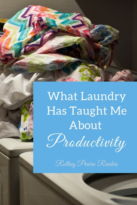 What Laundry Has Taught Me About Productivity | laundry tips, productivity and parenting, WAHM life, home organization, blogging, homeschooling, Konmarie