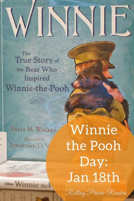 Winnie the Pooh Day is celebrated every January 18th, the anniversary of A.A. Milne's birth.