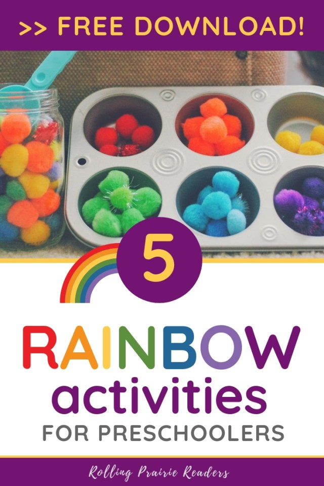 5 Rainbow Activities for Preschoolers