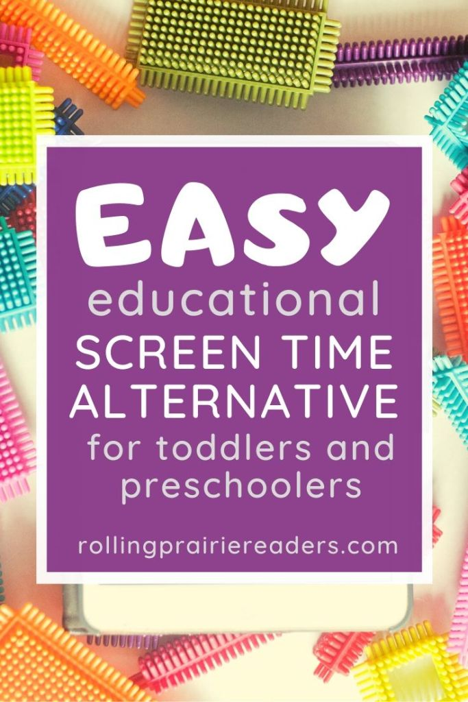 Screen Time Alternative for Toddlers