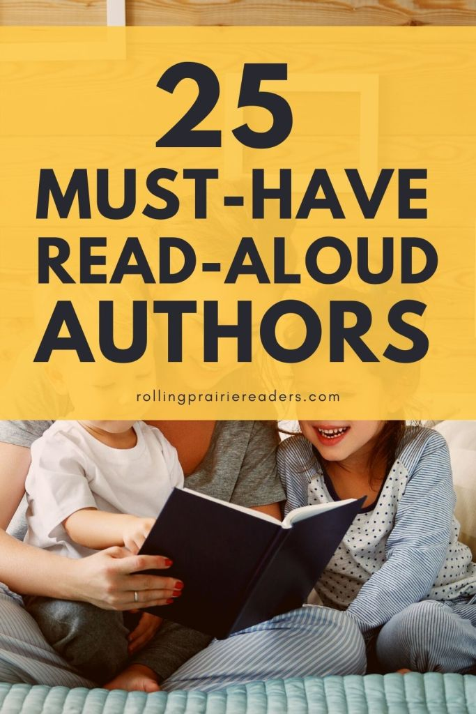 Must-Have Read Aloud Authors