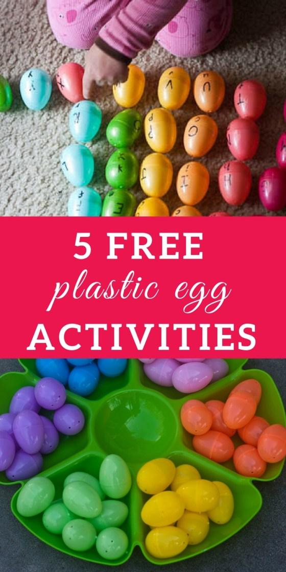 Plastic Egg Activities for Toddlers and Preschoolers | tactile activities, plastic eggs, spring activities for kids, family activities, invitations to play