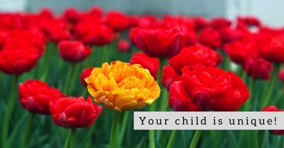 Our children have unique needs, just like plants.
