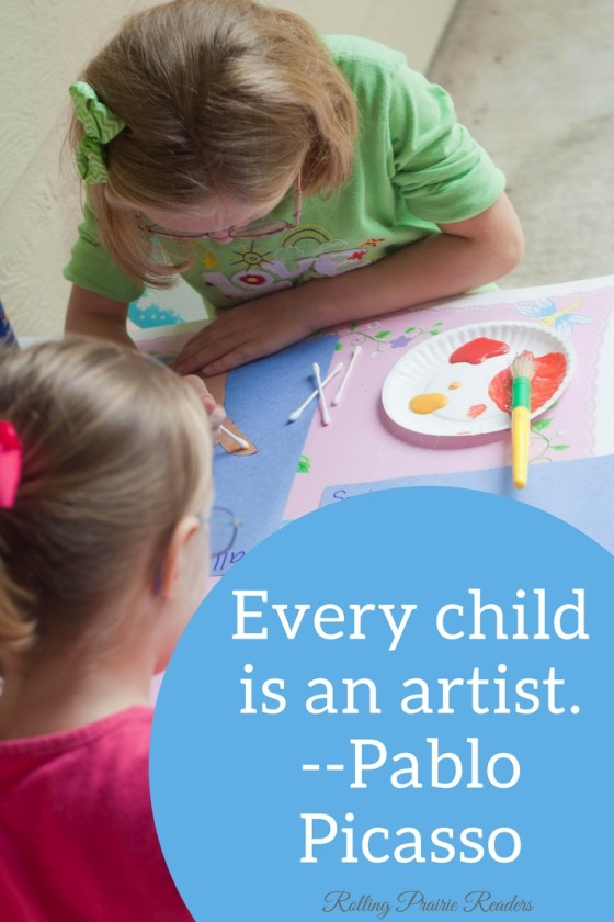 Three Ways to Set Up an Art Studio for Your Kids   Rolling Prairie Readers