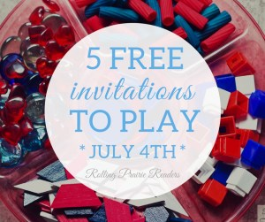 Five FREE 4th of July-Themed Activities for Toddlers and Preschoolers | invitations to play