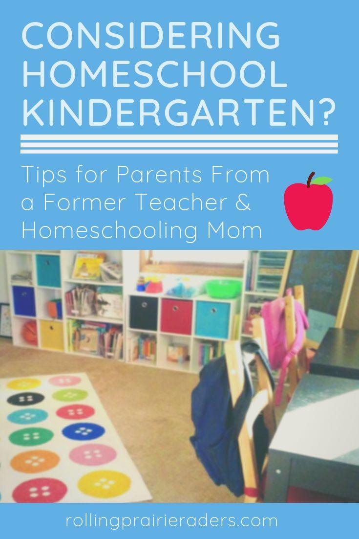 Considering homeschool Kindergarten?