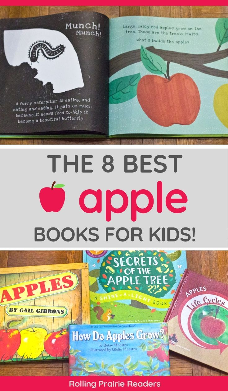 The Best 8 Apple Books for Kids