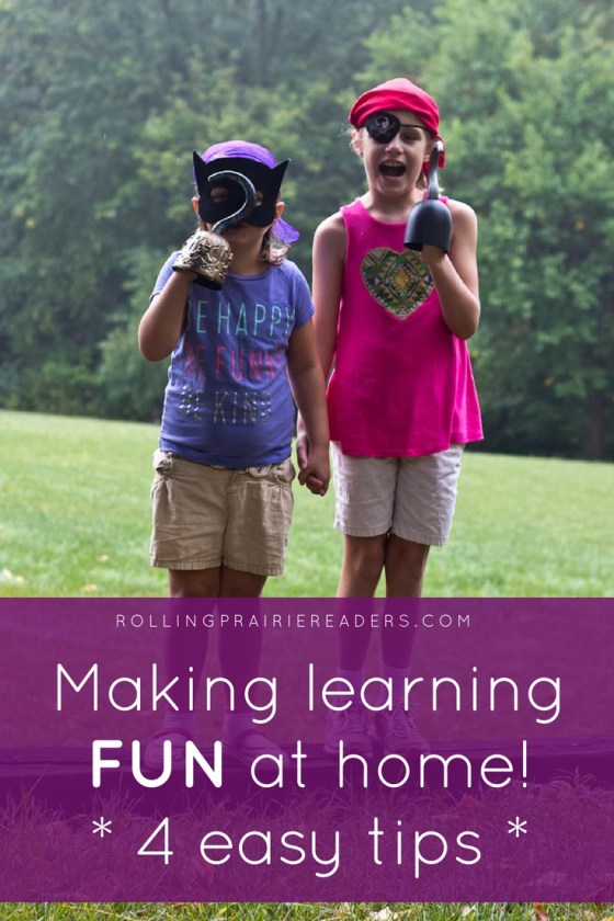 Make learning fun at home! Read good books, learn through play, go on family adventures, and talk positively about school and books with your children.
