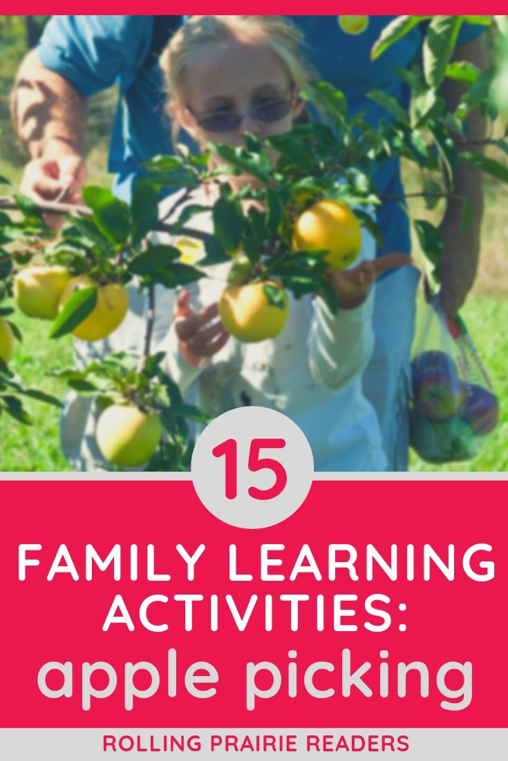 15 Fall Family Learning Ideas: Apple Picking