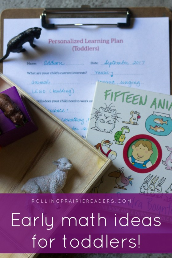 Fun learning ideas for teaching a toddler simple addition!