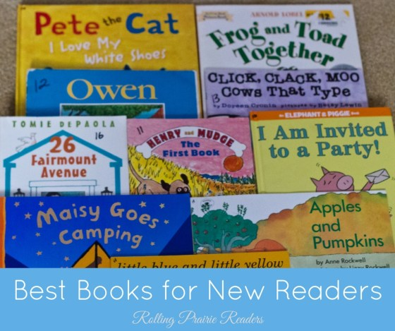 Best Books for New Readers   best books for kids, reading lists, recommended books, early readers, learning to read, printable list, free download
