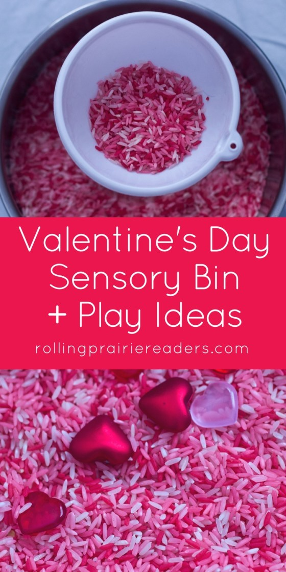 Valentine's Day Sensory Bin | activity ideas for kids, fine motor, colored rice, simple Valentine's activities, smart play ideas for preschoolers, fun sensory play, tactile activities, sensory bin fillers, learning through play