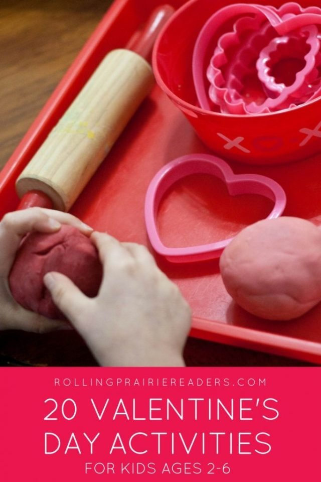 Valentine's Day Activities | for kids, for children, for toddlers, Kindergarten, 1st grade, preschool, family activities, learning at home, learning through play, smart play, sensory play